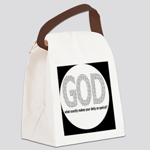 godbutton Canvas Lunch Bag